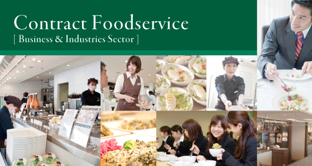Contract Foodservice [ Business & Industries Sector ]